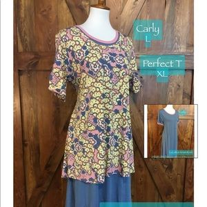 LuLaRoe outfit l CarlyXL perfect msrp $91 now $42